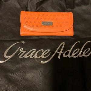 Handbags - Grace Adele Wallet Orange